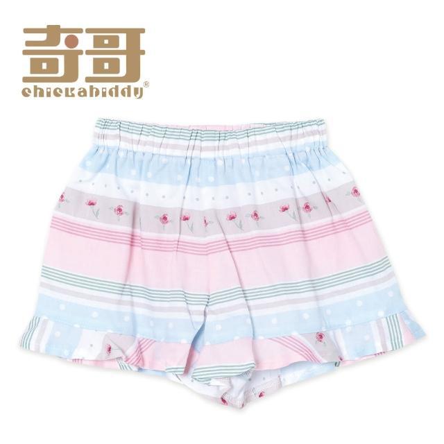 【奇哥】開心寶貝藍粉色條紋短褲(2-5歲)