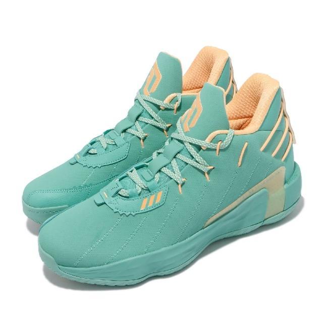 【adidas 愛迪達】籃球鞋 Dame 7 GCA 里拉德 男鞋 海外限定版 0號 避震 耐磨 湖水綠(FZ1093)