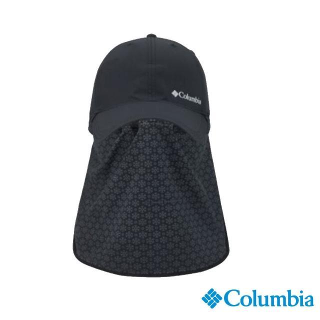 【Columbia 哥倫比亞】男女款-UPF50酷涼快排防曬帽-深灰(UCU02490DY / 抗UV.快排.酷涼)