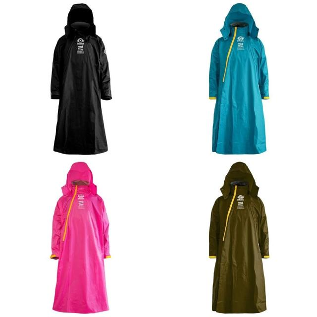 【Bright Day 君邁】Double背包雙拉鍊斜開連身雨衣D1+(機車雨衣、戶外雨衣)