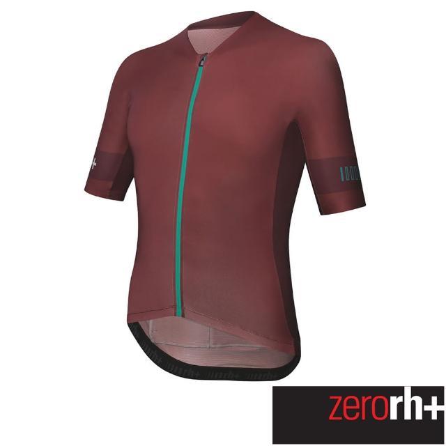 【ZeroRH+】義大利SPEED系列男仕專業自行車衣(紅色 ECU0756_366)
