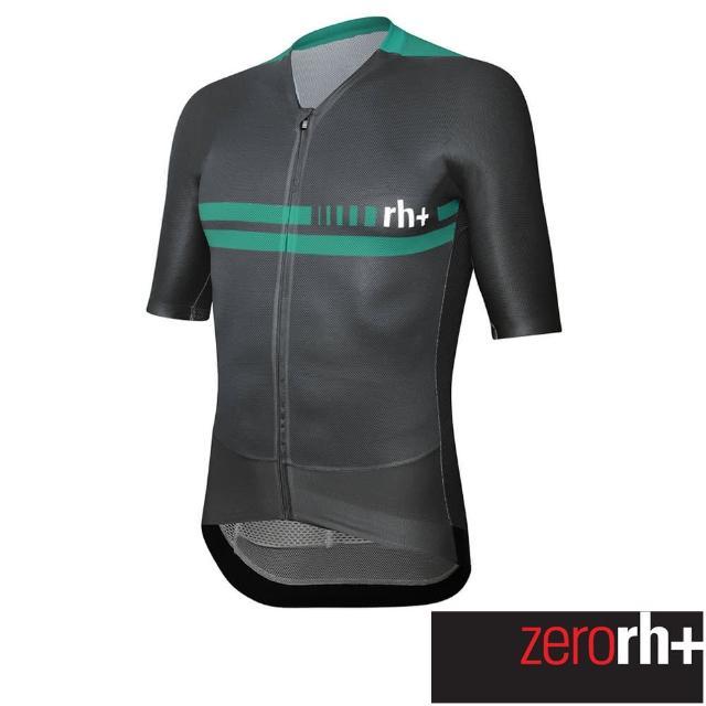 【ZeroRH+】義大利CLIMBER系列男仕專業自行車衣(綠色 ECU0749_511)