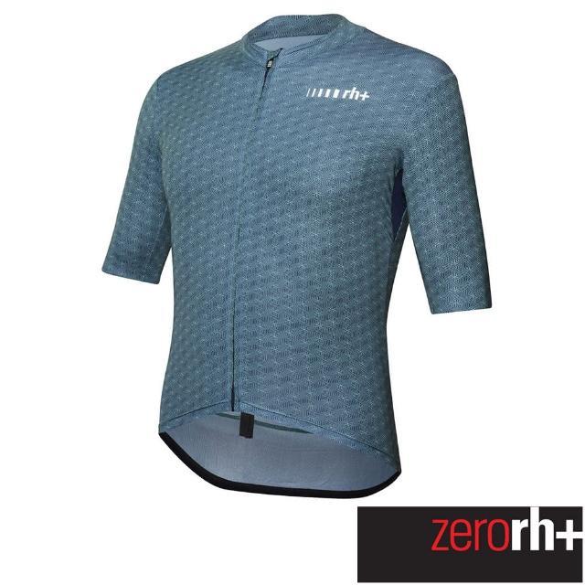 【ZeroRH+】義大利SUPER LIGHT系列極輕量級男仕專業自行車衣(藍色 ECU0699_25Z)