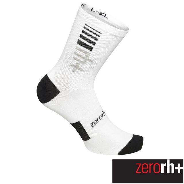 【ZeroRH+】義大利專業中筒單車運動襪(白色 ECX9164_09G)