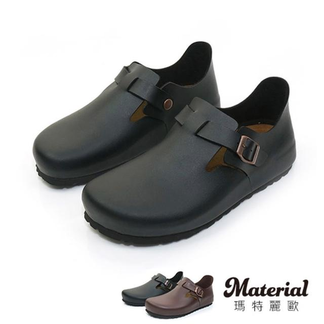 【MATERIAL】休閒鞋 寬版簡約懶人鞋 MA女鞋 T16002(懶人鞋)