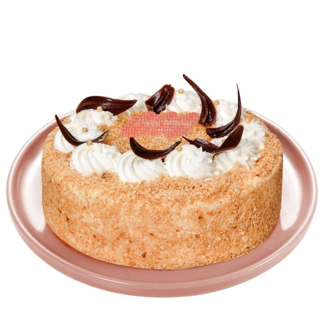 【亞尼克果子工房】好事花生6吋蛋糕(父親節蛋糕預購)