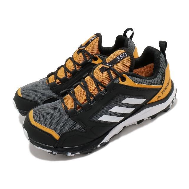 【adidas 愛迪達】慢跑鞋 Terrex Agravic TR 男鞋 愛迪達 GTX 防潑水 耐磨 輕量 野跑鞋 黑白(FV2417)