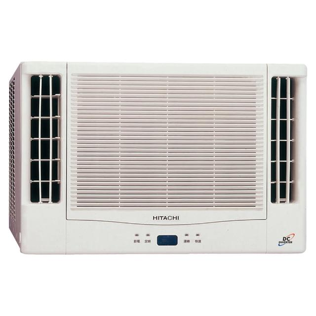 【HITACHI 日立】5-7坪變頻冷暖雙吹式窗型冷氣(RA-50NV1)