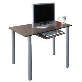 【美佳居】高75公分(60x80)平面電腦桌/書桌-含鍵盤抽(二色可選)