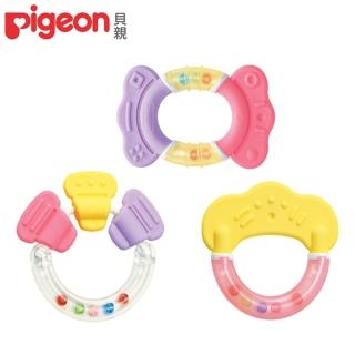 【日本《Pigeon 貝親》】牙齒咬環固齒器-玩具/糖果/粉彩(固齒器/磨牙器/玩具/糖果/粉彩)