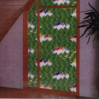 【FIXPIX】歐式山莊彩繪窗貼(HY-HEG020A)