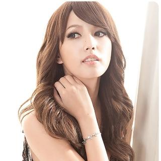 【Angel's Secret】甜心幸運草水晶手鍊-天使晶白