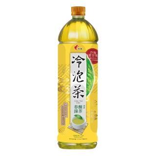 【光泉】冷泡茶-春釀綠茶1235ml*12瓶
