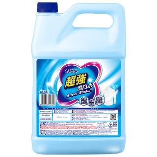 【妙管家】超強漂白水加侖桶(4L)