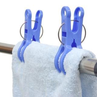 【日本AISEN】便利機能 曬竿專用大型衣夾(3包裝12夾)
