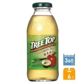 【Tree Top】樹頂蘋果綠茶360ml*6