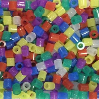 《Perler 拼拼豆豆》1000顆混色補充包-39亮片色系