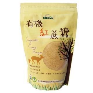 【統一生機】有機紅蔗糖(500g/袋)