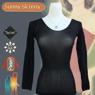 【日本 Sunny Skinny】光電子彈性恆溫保暖衣(黑色9分袖)哪裡買?