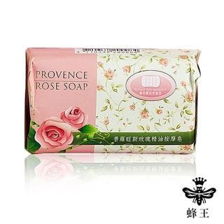 【蜂王】普羅旺斯玫瑰精油按摩皂80g/六入(60年製皂傳承-)