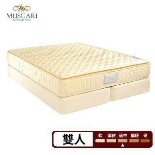 【MUSGARI瑪格麗】瑪爾斯 獨立筒 彈簧床墊-雙人5尺(送緹花對枕)