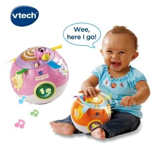 【Vtech】炫彩聲光滾滾球(2色可選)