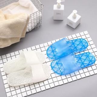 【333家居鞋館】素色透白浴室拖(5色)