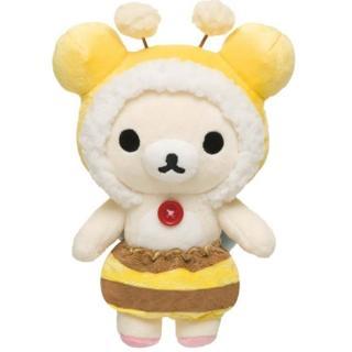 【San-X】懶妹蜜蜂系列絨毛公仔