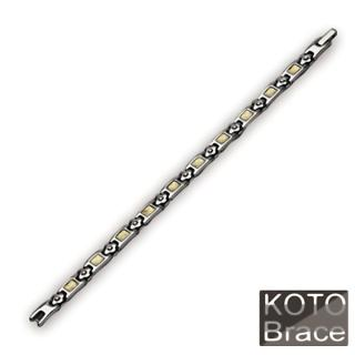 【KOTO】魅力戀人白鋼手鏈-女款(S-066G)