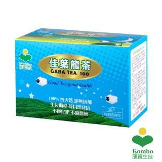 【KOMBO】GABA-TEA 100 佳葉龍茶(20入隨身包X6盒)