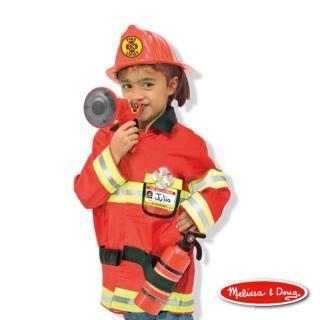 【美國瑪莉莎 Melissa & Doug】消防服裝扮遊戲組