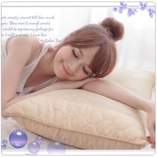 【MIT台灣安心寢具】新型專利米苔目45顆獨立筒舒眠枕