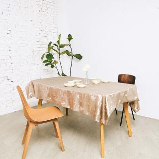 【Homemaker】古典印花金屬桌巾-長120cmX寬137cm(RN-PW143-026)