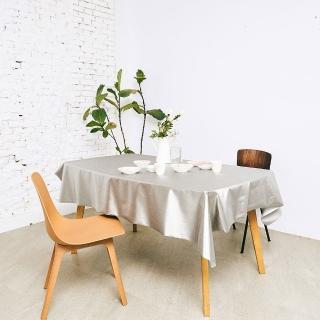 【Homemaker】素面金屬桌巾-長120cmX寬137cm(RN-PW73-035)