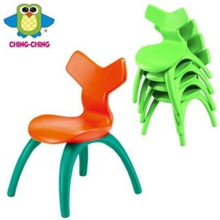 【親親Ching Ching】幾何造型椅子 ( 2 椅入 / 組 )( 綠、綠菊)