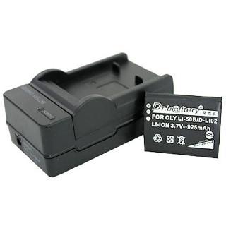 【電池王】For VBX090高容量鋰電池+充電器組 適用WA2/WA20(適用Panasonic相機)