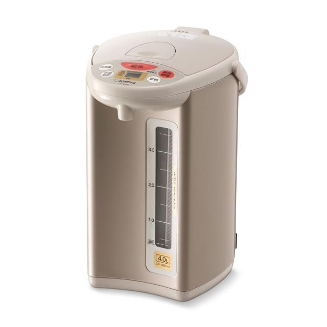 【象印】微電腦4L四段保溫設定電動給水熱水瓶(CD-WBF40)/