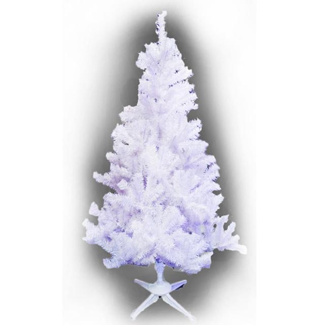 【摩達客】台灣製-7尺/7呎-210cm豪華型夢幻白色聖誕樹-裸樹(不含飾品/不含燈/本島免運費)/
