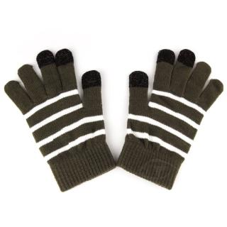 【Lus.G】暖呼呼觸控螢幕保暖手套(咖啡色)