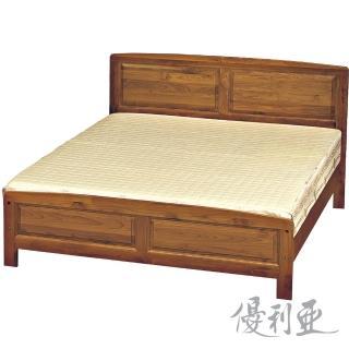【優利亞-古香樟木色】雙人5尺床架(不含床墊)/