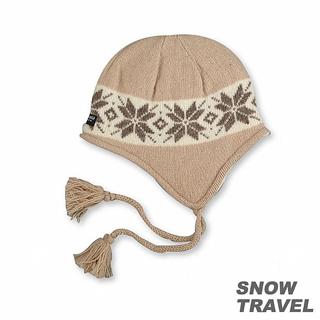 【SNOW TRAVEL】 3M防風透氣保暖羊毛遮耳帽(駝黃)比價