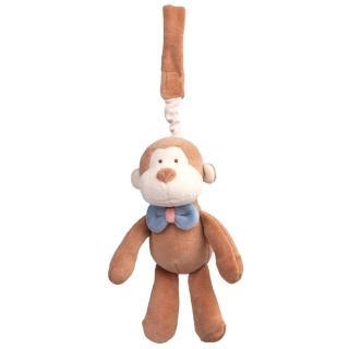 【美國miYim】有機棉吊掛娃娃(布布小猴)
