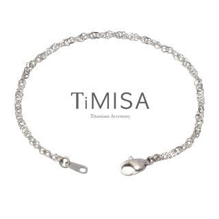 【TiMISA】曖昧 純鈦腳鍊