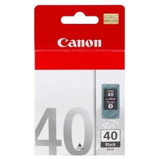 【CANON】PG-40 原廠黑色墨水匣