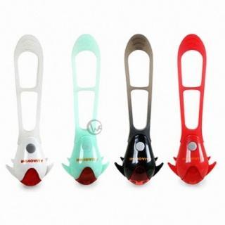【INNOVITY】紅光LED TwiLight 台灣製 一體性固定環 自行車 警示尾燈(TL-10)