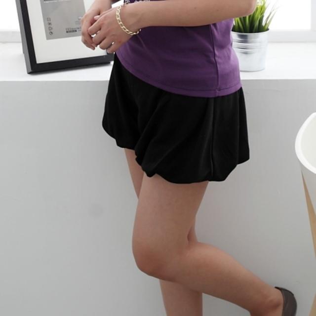 【衣心衣意中大尺碼】日系休閒-顯瘦泡泡褲(黑-藍ST3A3063)推薦文