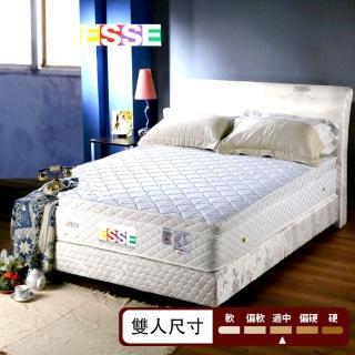 【ESSE御璽名床】抗菌防蹣三線加高獨立筒床墊-5尺(雙人尺寸)