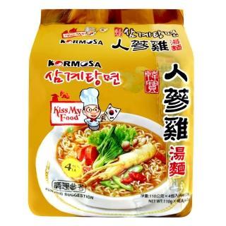 【Paldo】人蔘雞湯麵(440g)