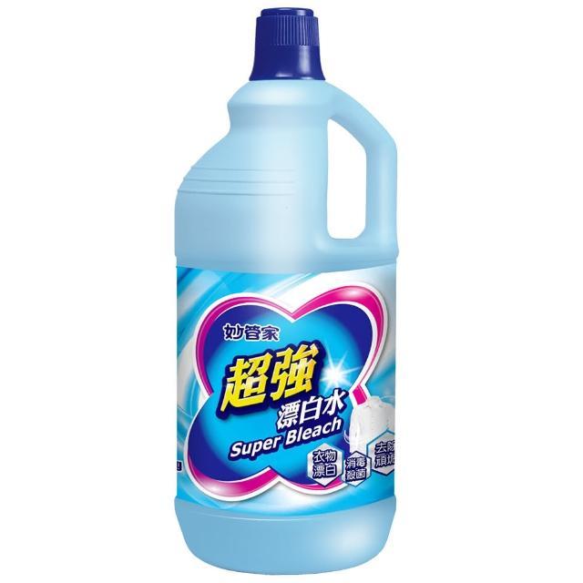 【妙管家】超強漂白水無磷原味(2000g)/