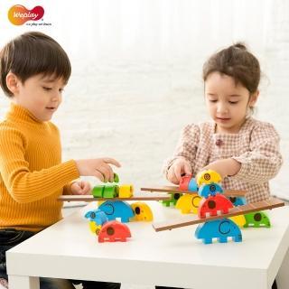 【Weplay】小象馬戲團(STEAM玩具)